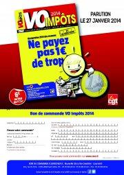Télécharger le bon de commande VO Impôts 2014