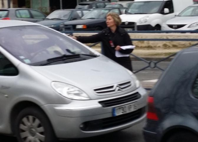 18 mars – l'action en Charente