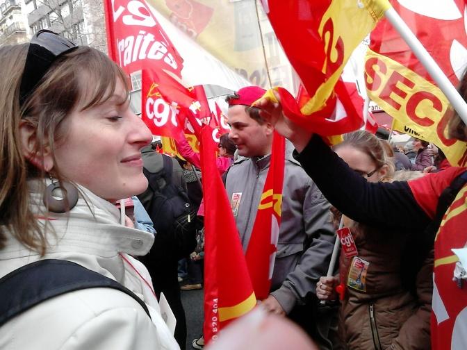 18 mars – La CGT dans l'action en Charente