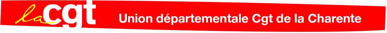 CGT de la Charente, Union Départementale