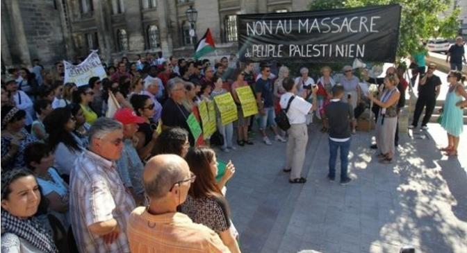 Tract du Collectif Charentais de Soutien au Peuple Palestinien