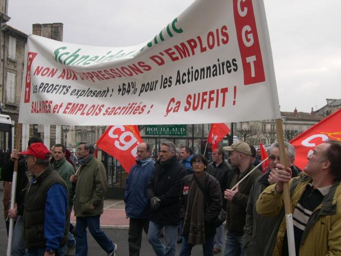 Schneider «Fermeture Cognac – Merpins: La Cour d'Appel de Versailles annule le Plan de Sauvegarde de l'Emploi (PSE)»