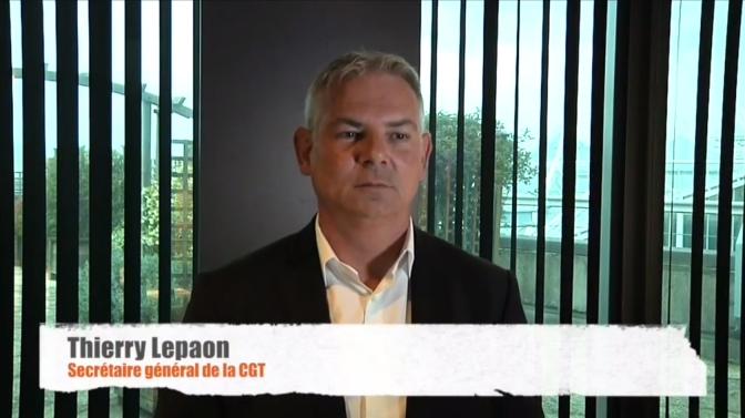 A LIRE – Déclaration de Thierry LEPAON aux synidqués de la CGT