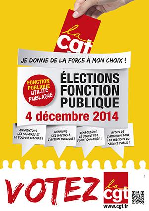 Communiqué de presse UD Cgt 16 – Elections Professionnelles de la Fonction Publique