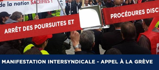 Angoulême, rassemblement de soutien aux salariés d'Air France le 22 oct.