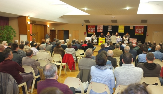 «La Démocratie Interne à la CGT» en débat en Charente