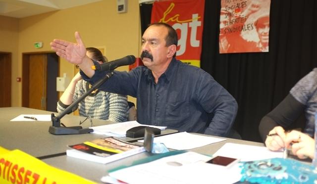 Les militants Charentais fêtent les 120 ans de la CGT en présence de Philippe MARTINEZ.