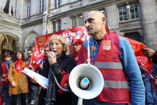 Les Agents de la Mairie reconduisent leur mouvement de grève aujourd'hui.
