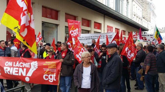 Mairie d'Angoulême, appel à la grève le 3 nov.
