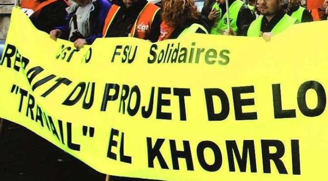 2, 8 et 14 juin : «Toujours contre le projet de loi Travail»