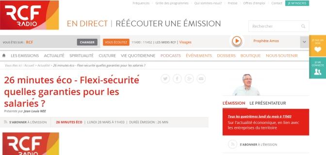 La CGT Charente sur RCF Accord.