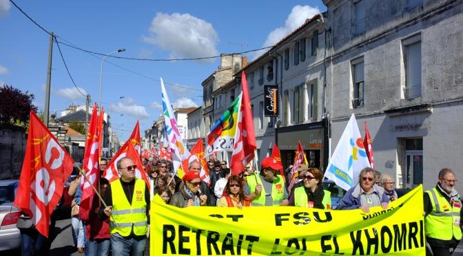 Loi Travail – CE N'EST PAS FINI ! Mobilisation du 12 mai