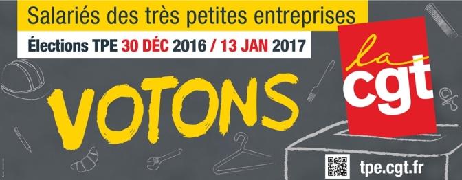 Campagne TPE -affichage de l'Union Locale du Grand Angoulême