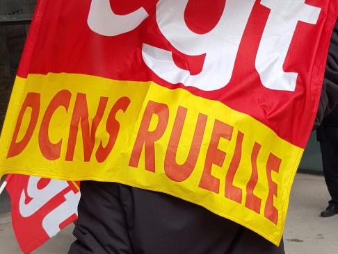 La lutte continue à DCNS Ruelle (Naval group)