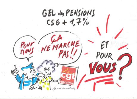 Angoulême, 28 septembre 2017 : Manifestations des retraités