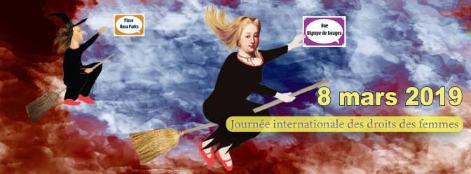 JOURNÉE INTERNATIONALE DES DROITS DES FEMMES –> VENDREDI 08 MARS 2019